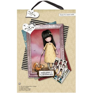 Gorjuss A4 Decoupage PackThe Pretend Friend
