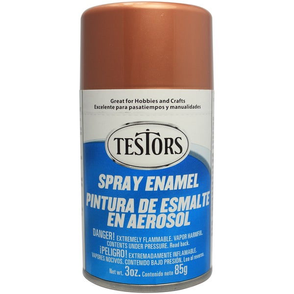 Testors Spray Enamel 3ozCopper