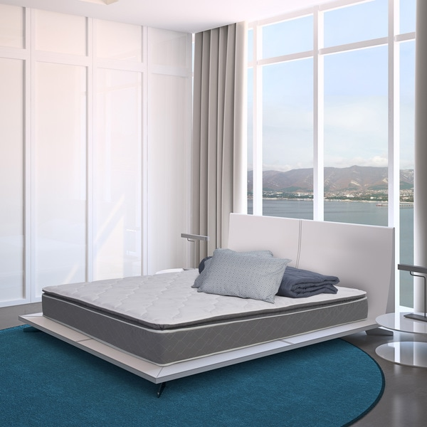 Wolf Mattress Pure and Simple Twin-size Pillow Top Innerspring Mattress