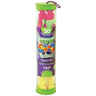 ZOOB Tube Set 20pcGlow In The Dark