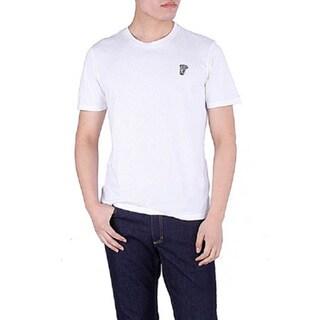 Versace Collection Men's White Crewneck Medusa Short Sleeve T-Shirt