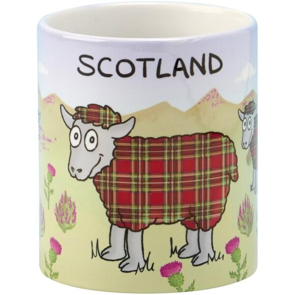 Tartan Sheep Coffee Mug