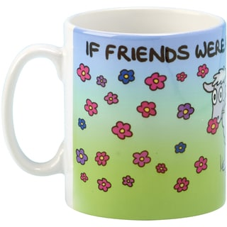 If Friends Were Flowers Coffee Mug