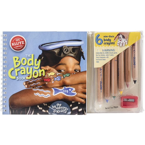 Body Crayon Book Kit