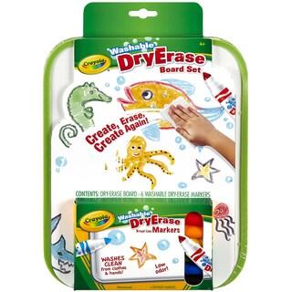 Crayola Dry Erase Go Anywhere Washable Marker Board Set