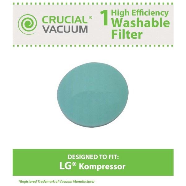 LG Kompressor LuV300B Washable Foam Pre Filter 16246646