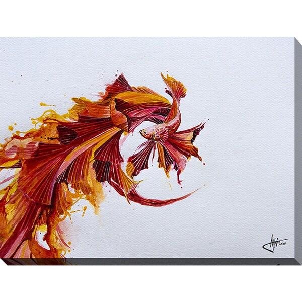 Marc Allante 'Ignite' Giclee Print Canvas Wall Art