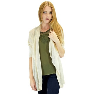 Relished Women's Contemporary Cream Candace Cardigan