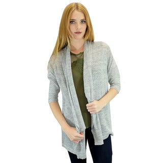 Relished Women's Contemporary Grey Candace Cardigan