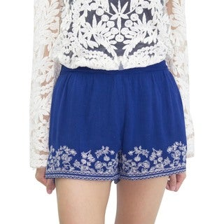 Relished Women's Copenhagen Embroidered Shorts