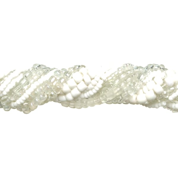 Jewelry Basics Glass Seed Bead Mix 90gWhite
