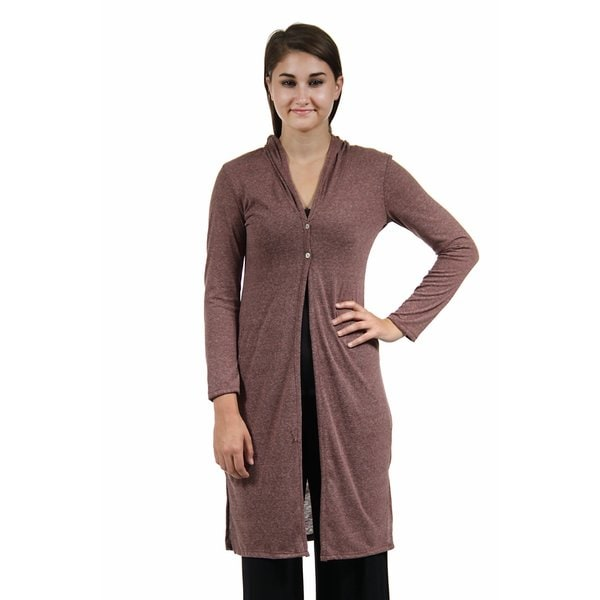 24/7 Comfort Apparel Women's Knee-Length Shrug