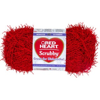 Red Heart Scrubby YarnCherry