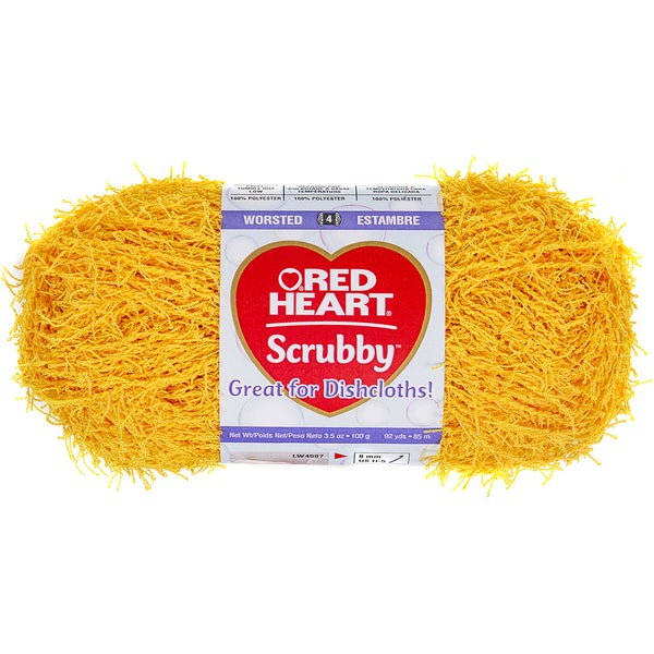 Red Heart Scrubby YarnDuckie