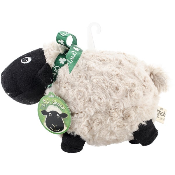 Black Soft Toy Sheep W/Ribbon