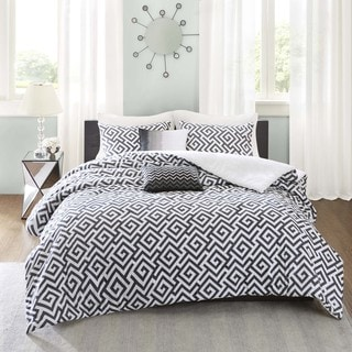 Madison Park Pure Carletta 5-Piece Cotton Duvet Cover Set