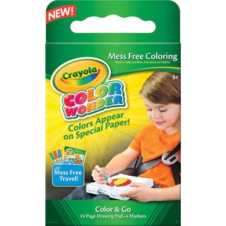Crayola Color Wonder Mess Free Color & Go Kit