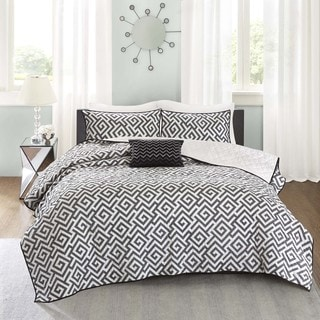 Madison Park Pure Carletta 4-Piece Cotton Coverlet Set