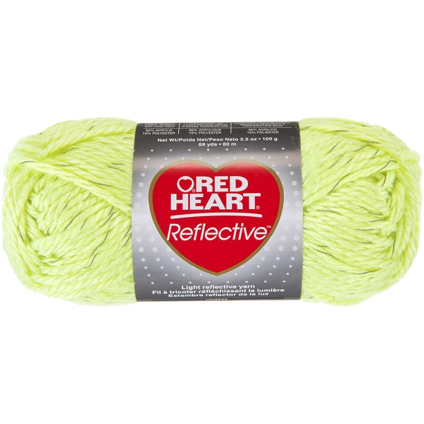 Red Heart Reflective YarnNeon Yellow