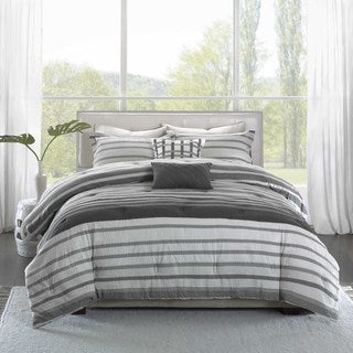 Madison Park Pure Avila 5-Piece Cotton Comforter Set