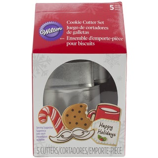 Metal Cookie Cutter Set 5/PkgMilk Carton