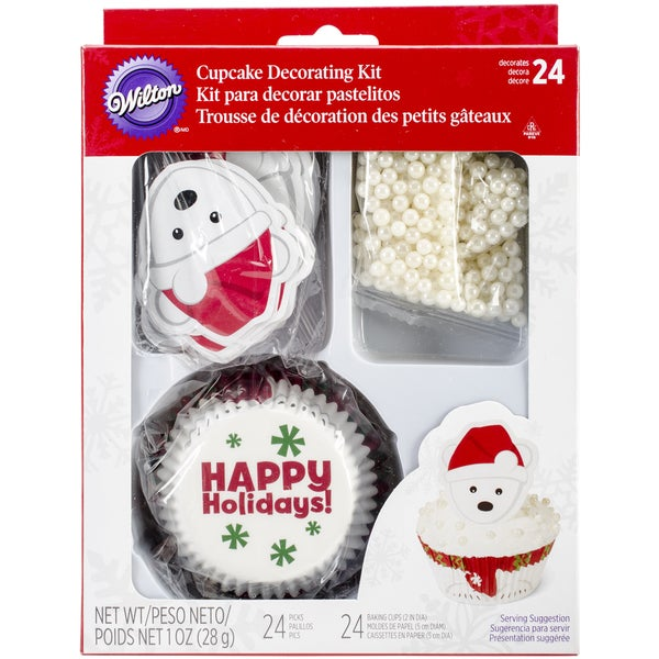Cupcake Decorating Kit Makes 24Polar Bear