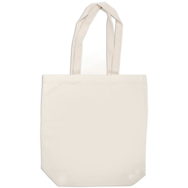 Canvas Medium Tote Bag 15inX10inX4inNatural