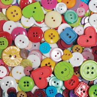 Favorite Findings Big Bag Of ButtonsMulticolor 4oz