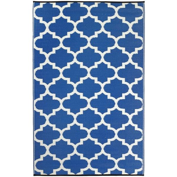 Tangier Regatta Blue & White (3' x 5')