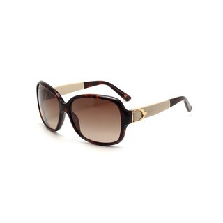 Gucci GG 3637/S Brown Gradient Lenses Tortoise/Tan Frame Sunglasses