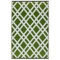 Dublin Lime Green & White (3' x 5')