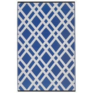 Dublin Dazzling Blue & White (3' x 5')