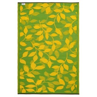 Bali Lemon Yellow & Moss Green (3' x 5')