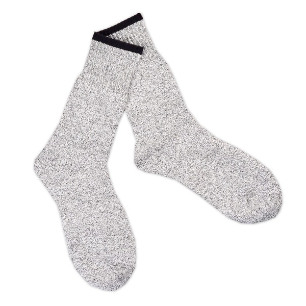 Teehee Recycled Cotton Men's and Women's Thermal Boot Socks (Pack of 4)