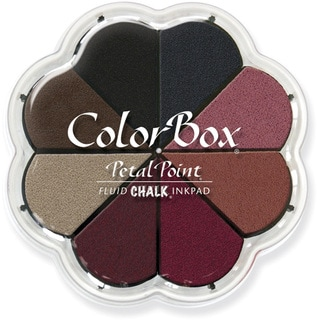 ColorBox Fluid Chalk Petal Point Option Ink Pad 8 ColorsNightfall