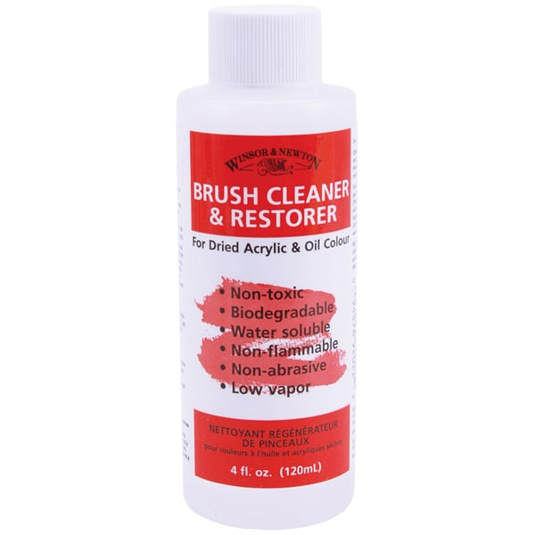 Winsor & Newton Brush Cleaner & Restorer4oz