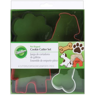 Metal Cookie Cutter Set 4/PkgPet Theme