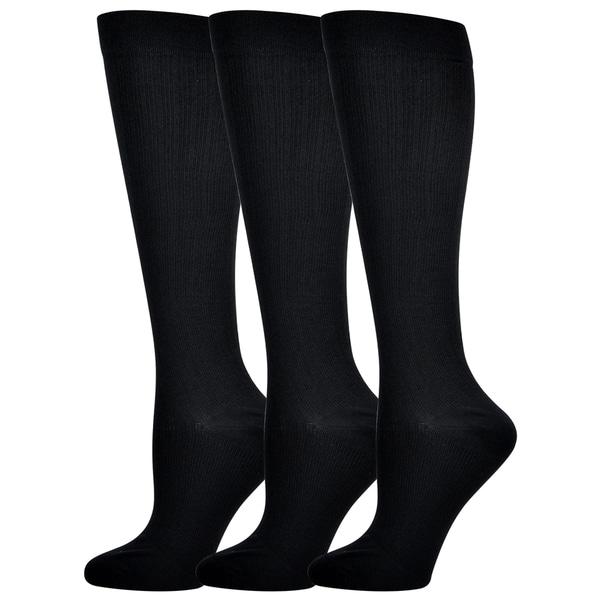 Teehee Compression Knee High Socks (Pack of 3)