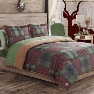 Houndstooth 3-piece Comforter Set