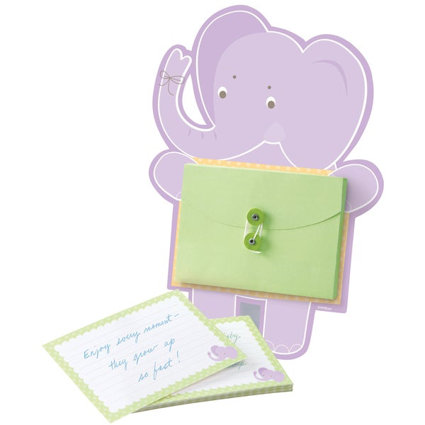 Card Activity KitElephant Baby Advice