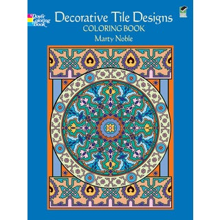 Dover PublicationsDecorative Tile Designs Coloring Book