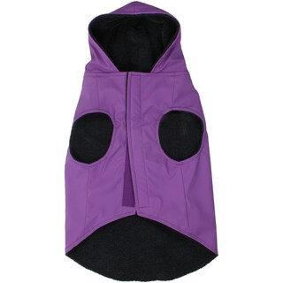 Jelly Wellies Deluxe Raincoat Medium 15inPurple