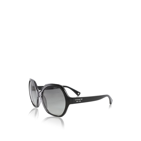 Coach Kaihla Sunglasses 56MM (Black/Grey)