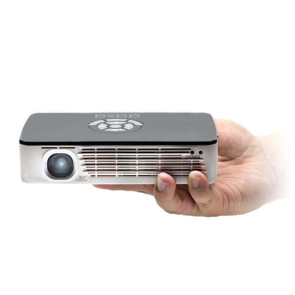 Aaxa p700 650 lumen 720p wxga portable pico projector for Highest lumen pocket projector