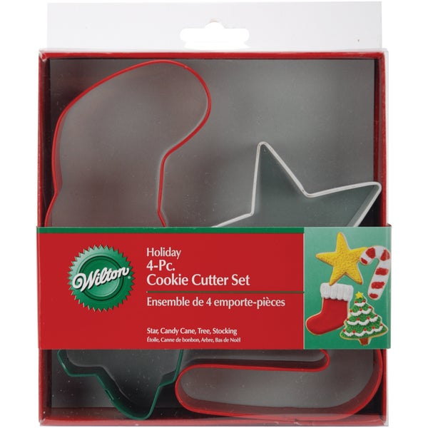 Metal Cookie Cutter Set 4/PkgJolly Shapes
