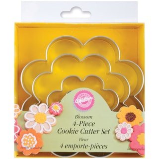 Nesting Metal Cookie Cutter Set 4/PkgBlossom