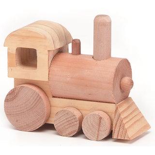 Wood Toy KitTrain 4.5inX1.75in