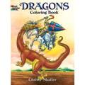 Dover PublicationsDragons Coloring Book