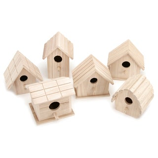 Assorted Wood Birdhouse