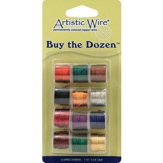 Artistic Wire BuyTheDozen 3yd 12/Pkg26 Gauge